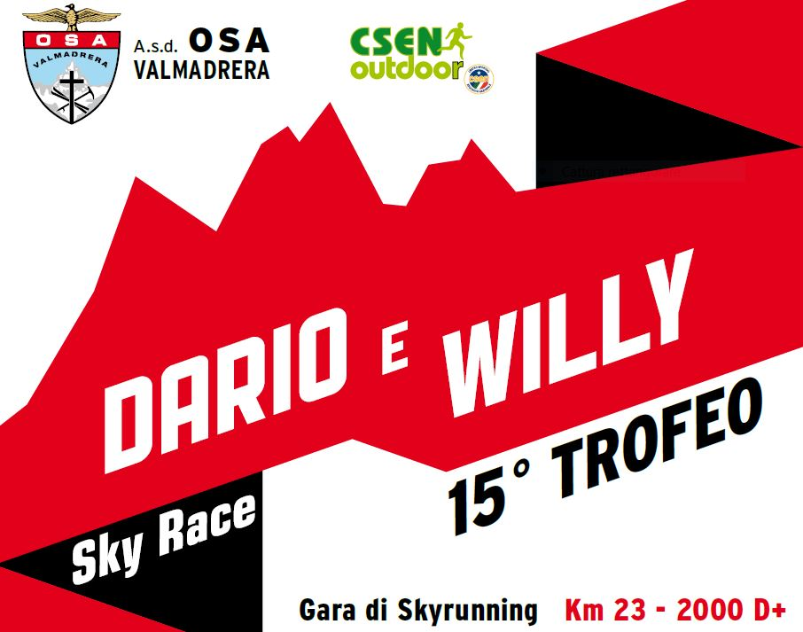 SKYRUNNING: 15° TROFEO DARIO E WILLY